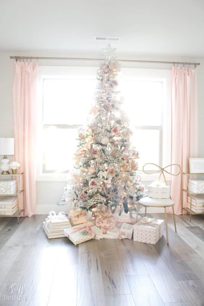 Rose Gold Pink Theme Christmas Tree Novocom Top